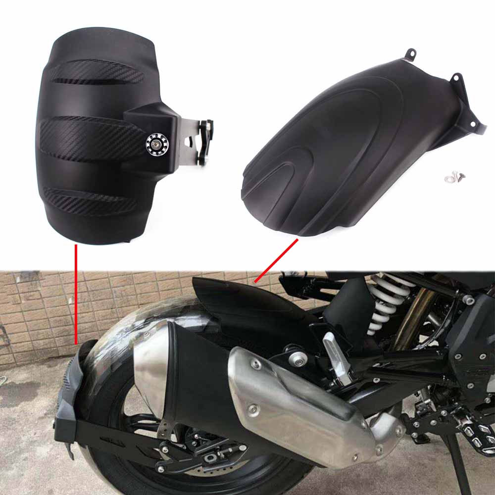 Motorcycle Rear Fender Wheel Hugger Splash Guard Mudguard Extender Extension Cover For BMW G310R G310GS 2017 2018 Accessories