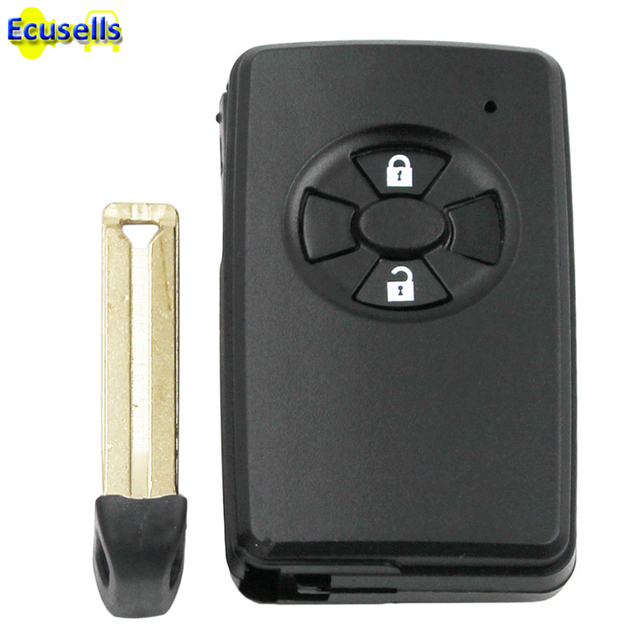 New Replacement Repair Key Case 2 On Smart Remote Fob Shell For Toyota Rav4
