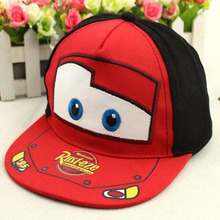 New Summer Popular Cartoon Kids Hip Hop Cap Boys and Girls Baseball Sports Embroidery flat along Caps Free Shipping