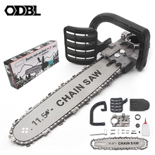 DIY Electric Saw Accessories 11.5 Inch M10 Chainsaw Bracket Set Changed 100 Angle Grinder Into Chain Saw Chainsaw Converter