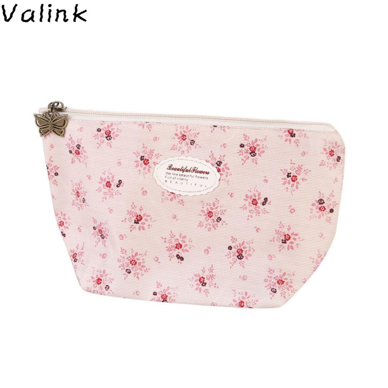 Valink 2017 New Cosmetic Bag Makeup Case Pouch Toiletry Wash Organizer Portable Travel Make Up Bag Organizador Necessaire hot newest dot portable travel cosmetic bags make up case pouch toiletry wash organizer makeup bag organizador necessaire