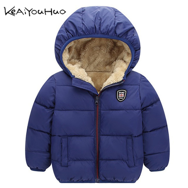 90b8dd6e9 Winter Kids Outerwear Boys Girls Down Jacket New Year's Costumes For Boys  Warm Baby Vest Child Fur Hooded Coat Clothing Clothes-in Jackets & Coats ...