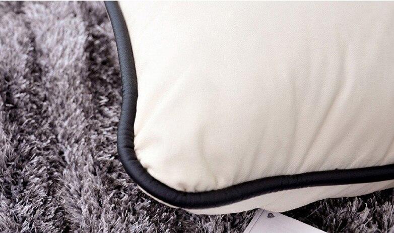 Aliexpress.com : Weißen Ledersofa Stuhl Wohnzimmer Bequeme Pu Leder Lounge  Sessel Moderne Mode Freizeit Tatami Boden Sessel Sofa Von Verlässlichen  Chair ...