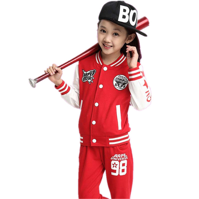 26420c900 Casual Boy Girl Coat Pants Suit Autumn Winter Set Children Clothing Sets  Infantil Enfant Kids Clothes Baby Toddler Tracksuit