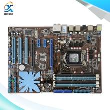 For Asus P7P55 LX Original Used Desktop Motherboard For Intel P55 Socket LGA 1156 For i3 i5 i7 DDR3 16G ATX On Sale