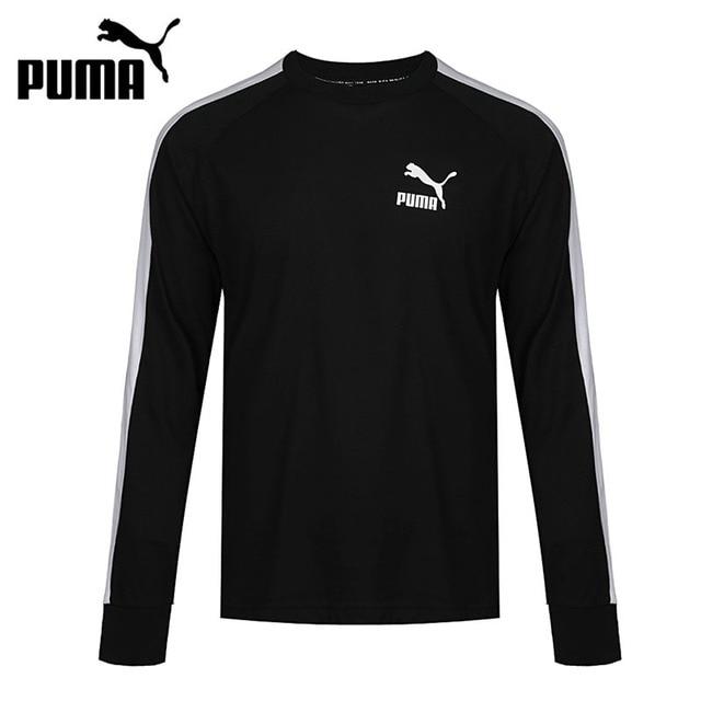 Original nueva llegada 2018 PUMA hombres Camisetas manga larga ropa  deportiva 4ad36ac351f6a