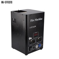 One Head dmx Fire Machine Stage Effect flame projector DMX 512 stage Flame Thrower for sale with safe channel flame jet 4m