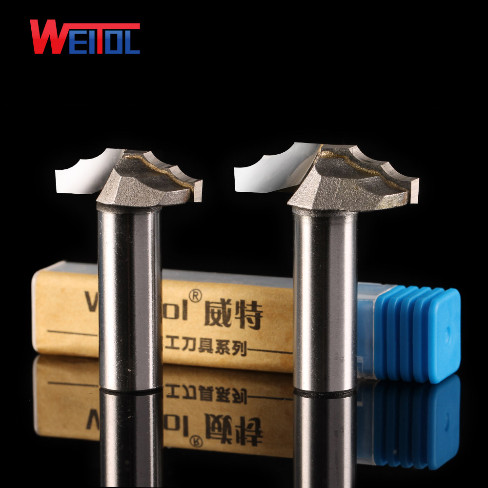 Weitol free shipping 1/2 shank tungsten carbide door cabinet pattern bit for woodworking wood carving tool CNC router bit weitol 5a 1 pc  3 175 4 6mm tungsten