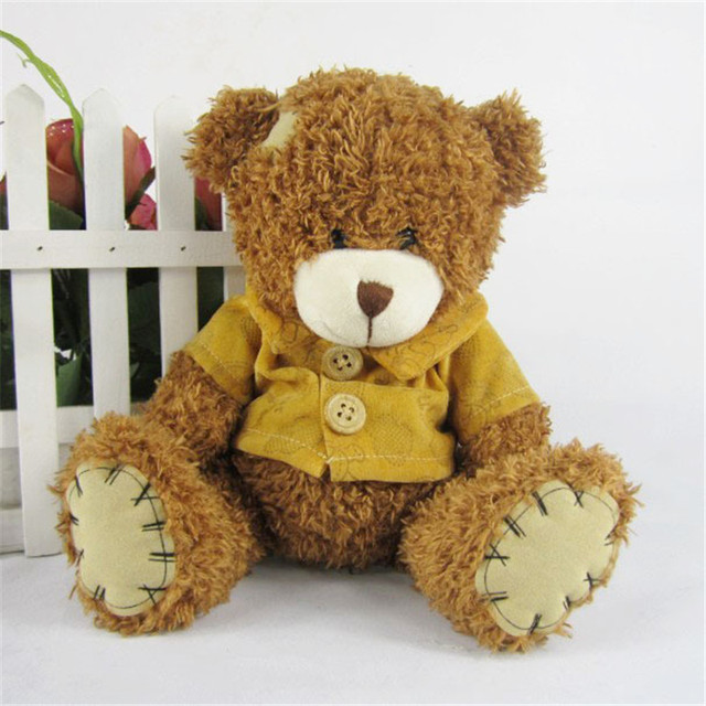 The new arrival hot dress stuffed teddy bear doll Sit plush dolls bears direct manufacturers wholesale for kids toys
