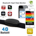 Wireless Sports Heart Rate Monitor bluetooth Smart heart rate Sensor Chest Strap for IOS Android Wahoo fitcare belt heart rate