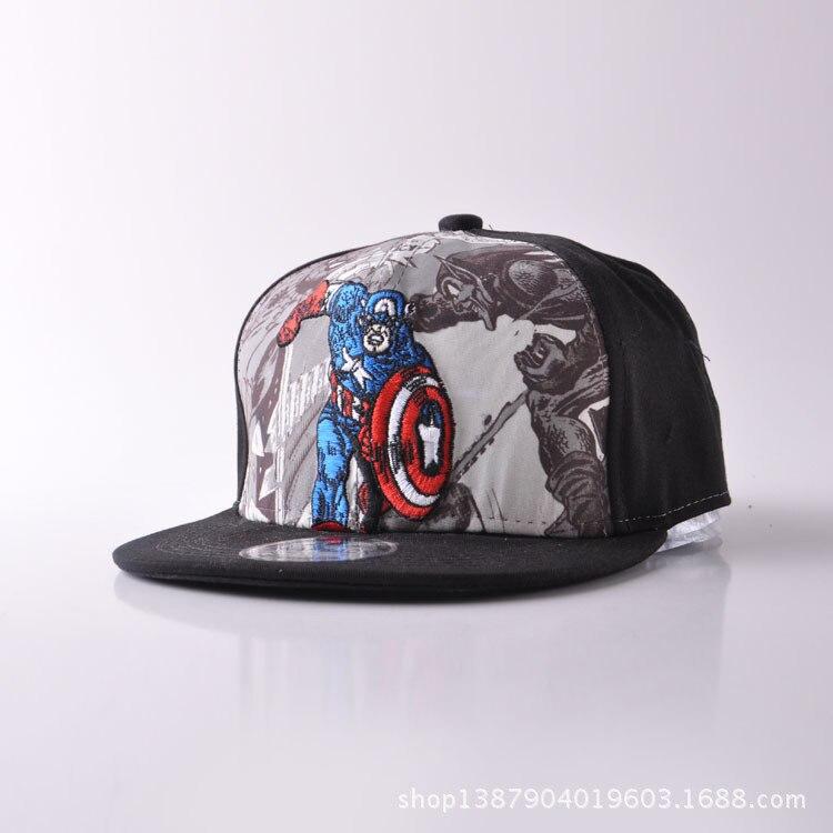 d1f4e97ed80 Hero Alliance U.S.A Captain Spider Chivalrous Catamite Baseball Hat  Embroidery Bat Chivalrous Children Hats Hip Hop