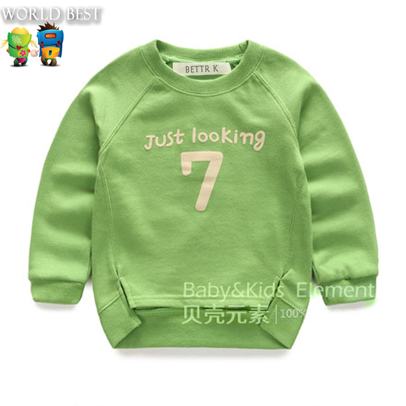 Hot New Arrival Fashion Boy Kid Clothing 2015 Baby Boy Long Sleeve Boy Tops And Tees Autumn Girl Long Sleeve Autumn Girls Casual