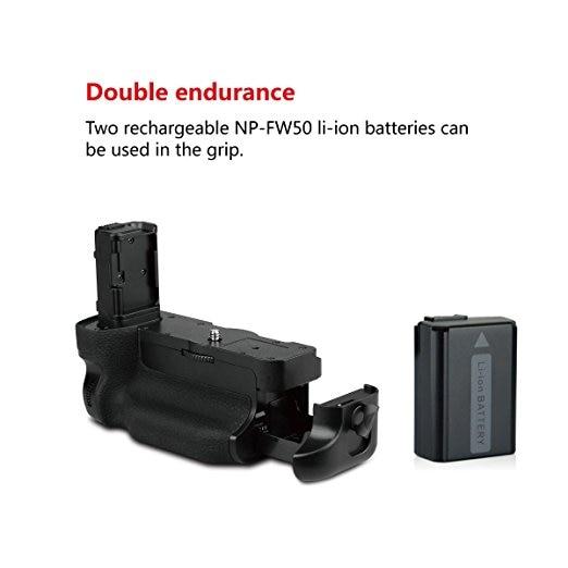 MEKE Meike Mk-A7II Pro Built-in 2.4g Wireless Battery Grip for sony A7II with Remote Controller