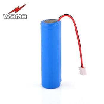 20x Wama 2600mAh 18650 3.7V Rechargeable Batteries Packs Li-ion 1S PCB Protected for Flashlight DIY Loudspeaker FM Radio