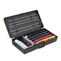 Messerschärfer Breite Palette 5-Stone Messerschärfer System Küche Schleifstein Werkzeuge Schärfen Messer Spitzer Kit