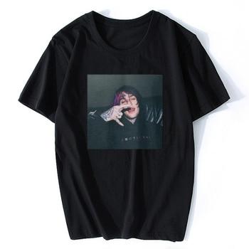 LIL PEEP T SHIRT BLACK WHITE Jurney Print T-shirt Cool Xxxtentacion Tshirt Brand Shirts Print Colour Harajuku Men T Shirt