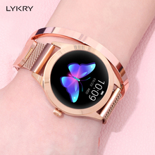 LYKRY KW10 Smart Watch Women 2019 IP68 Waterproof Heart Rate Monitoring Bluetooth For Android IOS Fitness Bracelet Smartwatch
