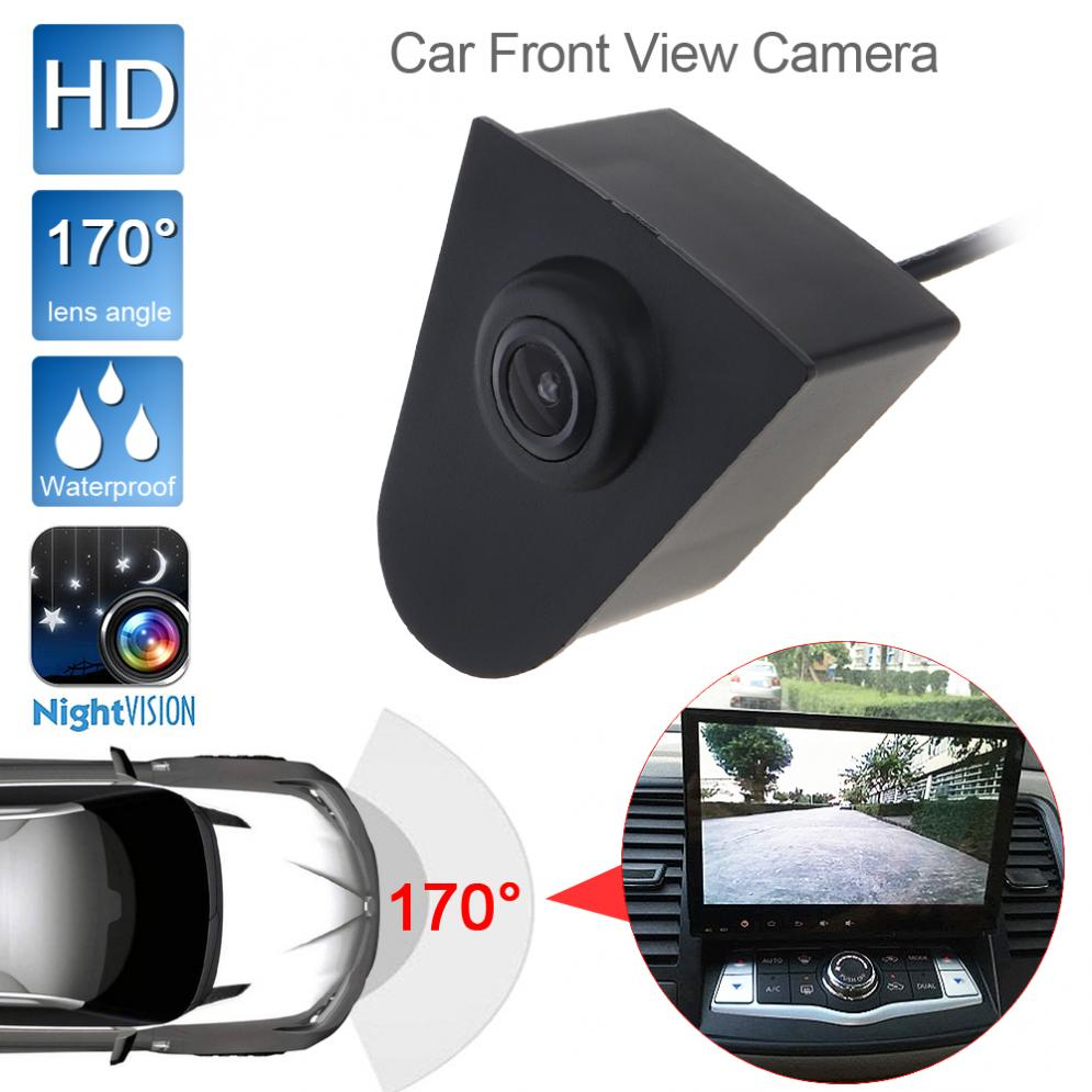 DC12V 420 TVL High Definition HD Portable Car Front View Camera Night Vision 170 Wide Degrees Logo Embedded Fit For Honda