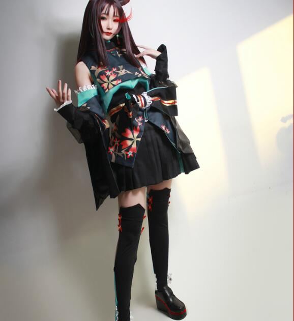 Hot Selling Onmyoji Game Full Set Lady Dressing Costume   for Women Halloween Wear Cosplay Costume