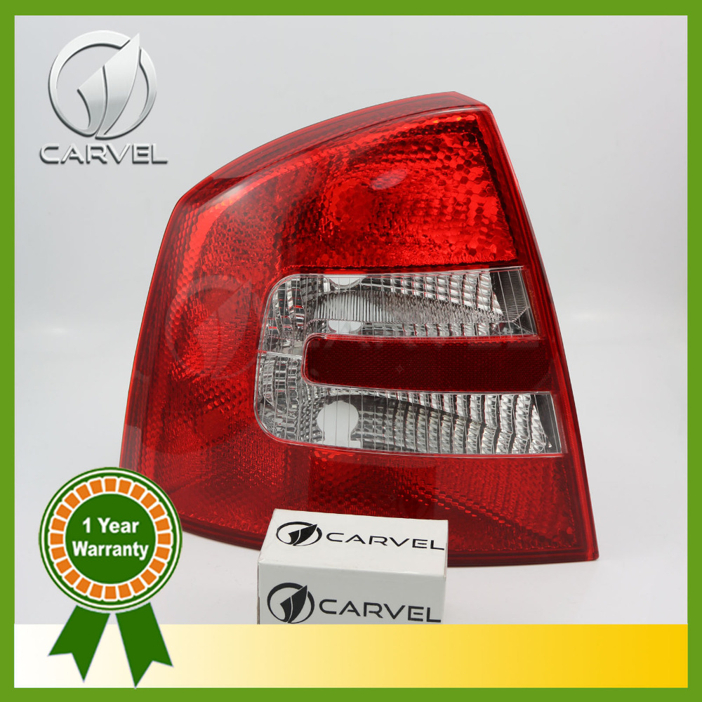 Free Shipping For Skoda Octavia Sedan A5 2005 2006 2007 2008 Left Side Rear Lamp Tail Light aftermarket free shipping motorcycle parts eliminator tidy tail for 2006 2007 2008 fz6 fazer 2007 2008b lack
