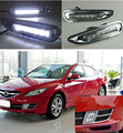 With Chromed Cover Dimming Style Relay 12V Car LED Daylight Driving DRL Daytime Running Light For Mazda 6 2008 2009 2010