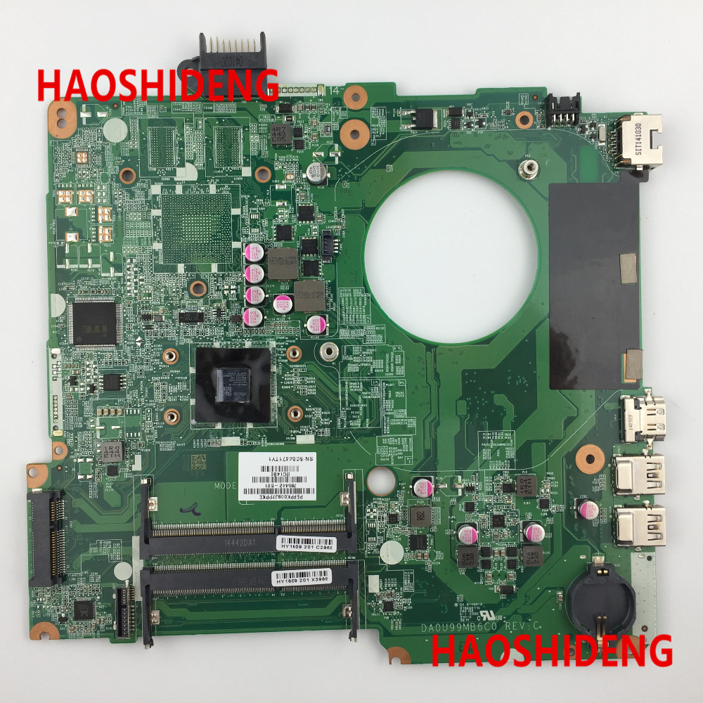 Free Shipping,785442-501 U99M for HP Pavilion 15-N 15-F series Motherboard with A8-6410 cpu.All functions 100% fully Tested! free shipping 682040 501 for hp pavilion dv7 dv7 7000 dv7t motherboard hm77 650m 2g all functions 100% fully tested