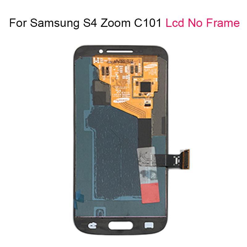 Image 2 - For Samsung Galaxy S4 SIV ZOOM C101 LCD Touch Screen With frame For Samsung Touch Screen LCD Display Digitizer Assembly-in Mobile Phone LCD Screens from Cellphones & Telecommunications