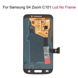 Image 2 - עבור סמסונג גלקסי S4 SIV זום C101 LCD מסך מגע עם מסגרת עבור Samsung מסך מגע LCD תצוגת Digitizer עצרת