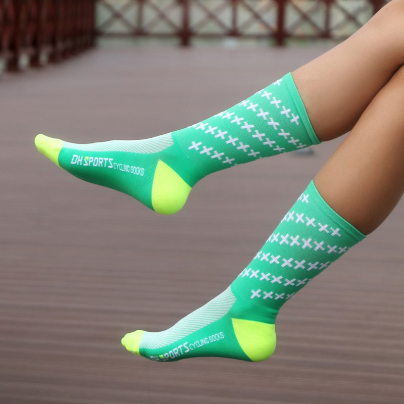 2018 Professional Cycling Socks Men Women Outdoor Road Bicycle Socks Brand Running Compression Sport Socks