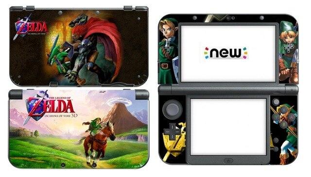 224 Zelda Vinyle Peau Autocollant Protecteur Pour Nintendo New 3DS XL LL  Skins Autocollants