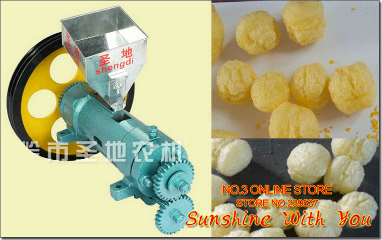 US $692 0 |Hot sell corn puffed food extruder 50kg capacity maize puffing  food extruder ball shape puffing food machine crispy ready to eat-in Food