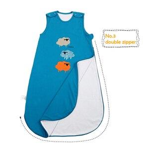 Image 2 - I ベビーベビー寝袋純粋な綿、ビッグ十分にフィットあなたの成長、幼児ウェアラブル毛布、幼児パジャマバッグラップ