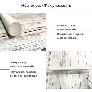 Image 5 - YANXIN DIY ציור מסגרת מספרי פרחי תמונות מלא ערכות אקריליק צבע על בד בית תפאורה תמונות RSB8169