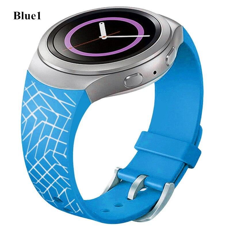 Luxury fashion Silicone Watch Band Strap 22mm For Samsung Galaxy Gear S2 SM-R720 Watchband Perfect Fit Top Quality Wristband luxury silicone watch replacement band strap for samsung gear fit 2 sm r360 wristband 100