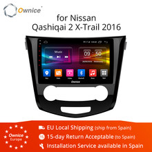 Ownice K1 K2 2G/32G Octa Core Android 8.1 Car DVD GPS Player for Nissan Qashqai / X-Trail 2013 2014 2015 4G LTE DAB+ DVR(China)