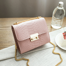 Famous Brand Designer Women Bag Mini Chain Shoulder Bags Small Laptop Handbag Party Alligator Crocodile Crossbody Messenger Bag