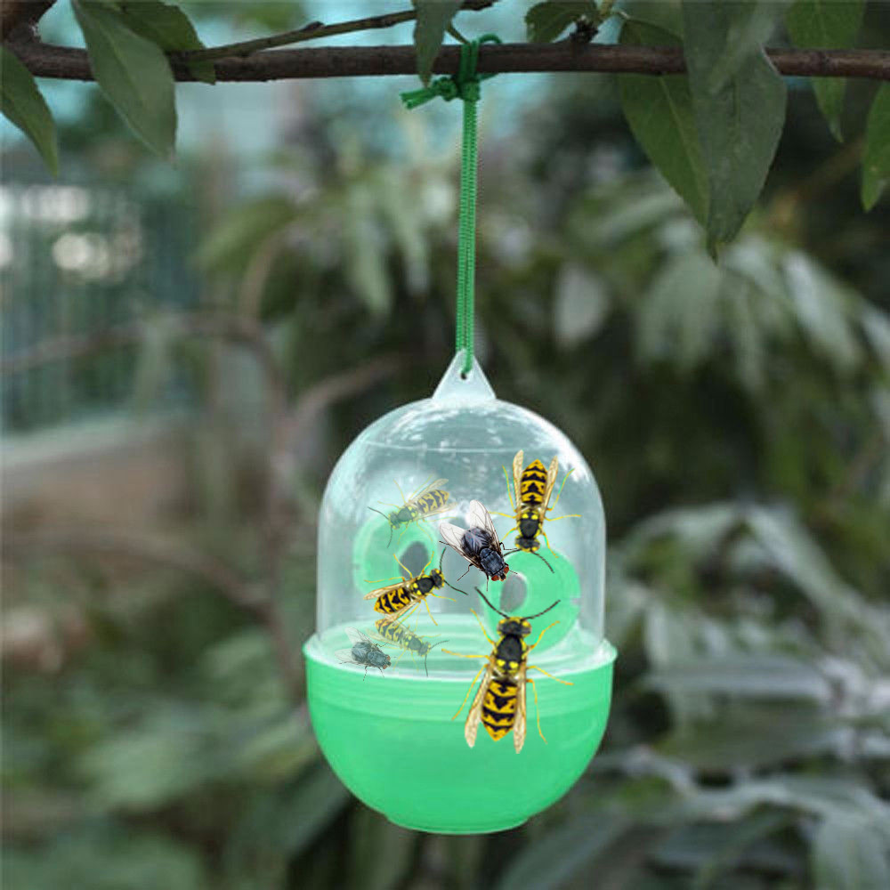 Wasp Fly Flies Bee Insects Hanging Trap Catcher Killer No Poison Or Chemical  Insect Mosquito Anti Mosquitos Trap Armadilha De