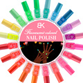 20 Styles 7 ml Luminous Nail Polish UV Candy Color Shimmer Multi-color Fluorescent Gloss Lacquer Varnish Art Nail Polish