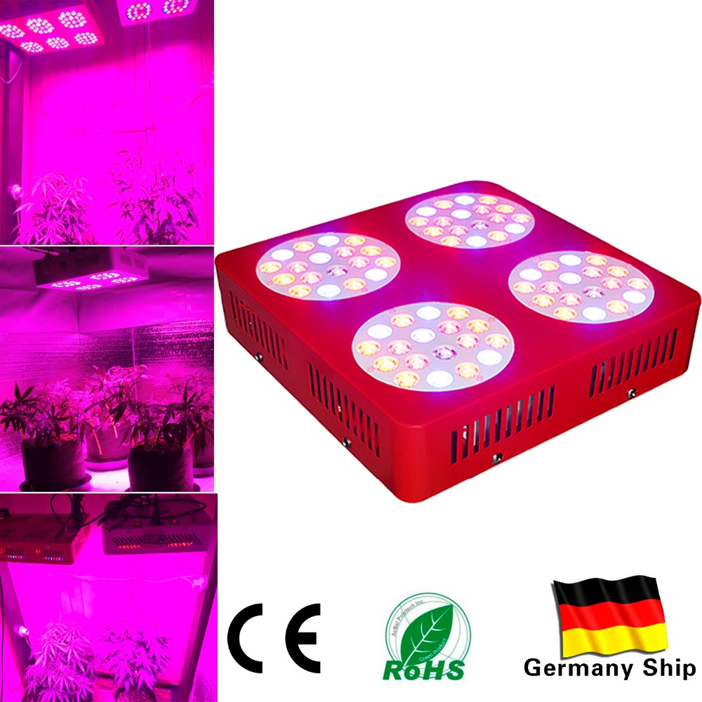 Shipping From US 2 Part Of Stainless Steel ZNET4 300W HPS Replacement Full Spectrum LED Plant Grow Lights For Growth Indoor growth of telecommunication services