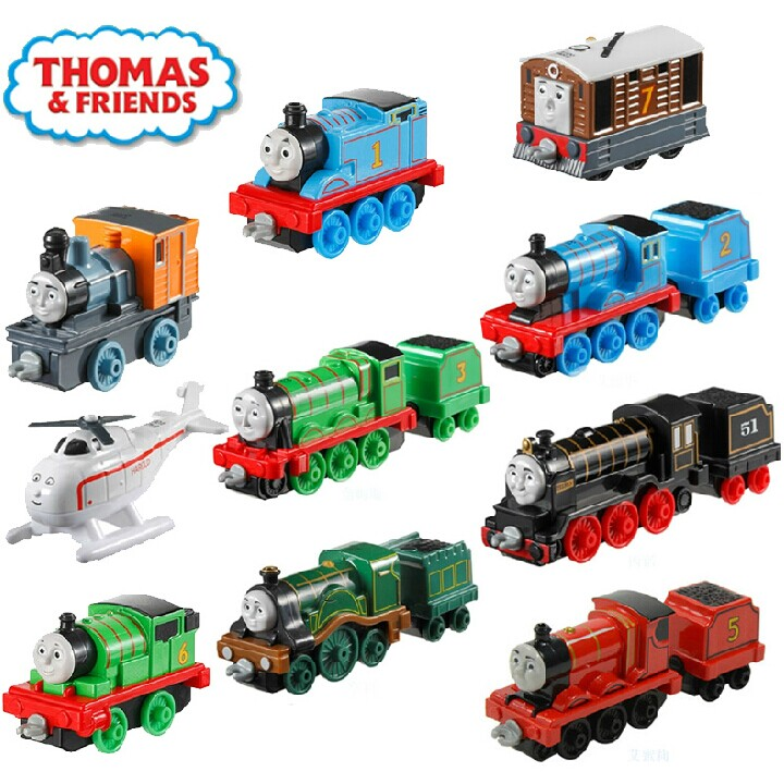 1pcs Kids Thomas And Friends Metal Trains Trackmaster Magnetic
