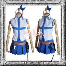 Fairy Tail Lucy Heartfilia Cosplay Por Encargo Del Traje completo traje