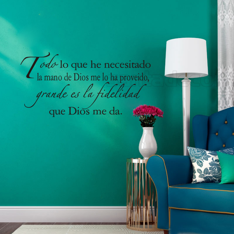 Vinyl Wall Stickers Spanish Quotes Espanol Decals Removable Art Home Decor Wallpaper For Living