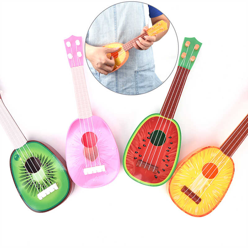 4 String Fruit Style Guitar Ukulele Musical Instrument Kids Christmas Gift Toy New Super Cute Children