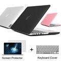 Melhor caso do portátil para apple macbook pro 13 15 para mac livro 13.3 15.4 polegada Pro com Retina + Keyboard Cover + Tela protetor