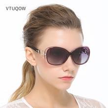 Luxo Óculos Polarizados Óculos De Sol Das Mulheres Da Marca do Desenhador 2019 Óculos de Sol Óculos de Condução Óculos de Sol Retro Para Mulheres Lady Feminino Feminino