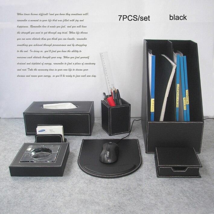 Comprar 7 unids set archivo escritorio de oficina accesorios de escritorio de - Accessori ufficio design ...