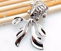 Hot Sale Fashion Pure 925 Sterling Silver GoldFish Pendant