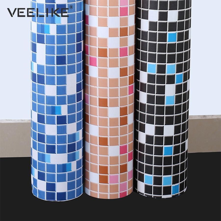 Kitchen Backsplash Contact Paper: Bathroom Vinyl PVC Self Adhesive Wallpaper For Kitchen