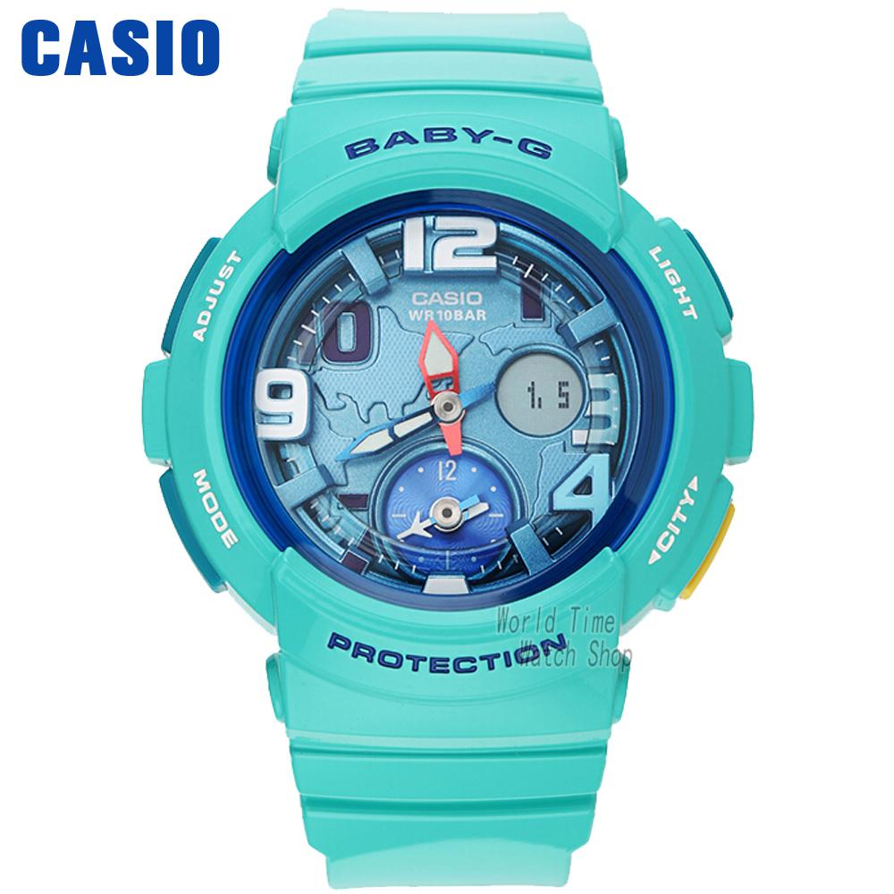 Casio watch female watch fashion double show sports female watch BGA-190-3B BGA-190BE-2A BGA-190BE-4A BGA-190GL-1B casio bga 185fs 2a