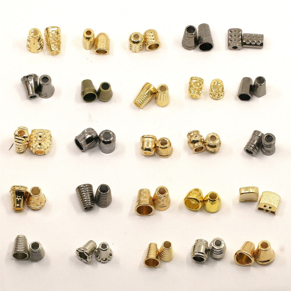 1000pcs Metal Garment Cord Stooper Manufacturer Drawstring bags clothes button cord ends